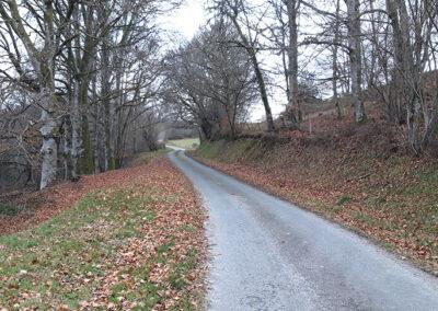 Route Campagne Congre