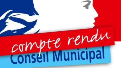 Compte rendu du conseil municipal du 25 mai 2021